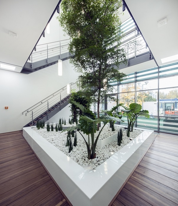 Indoor greenery atrium, hall, office, private - inquire and buy online
