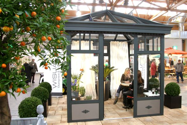 Winter garden greening for the conservatory - exhibition germany